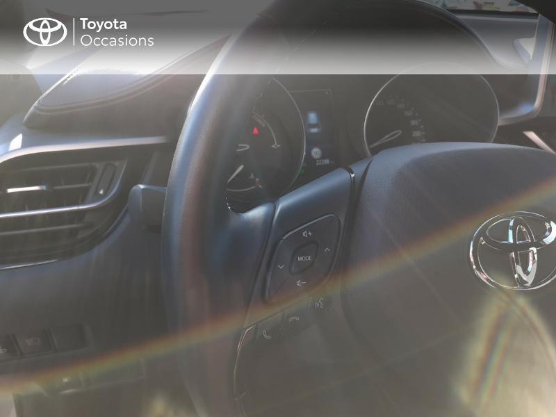 Photo 20 de l'offre de TOYOTA C-HR 122h Edition 2WD E-CVT RC18 à 20990€ chez Rizzon Auto - Toyota St Brieuc