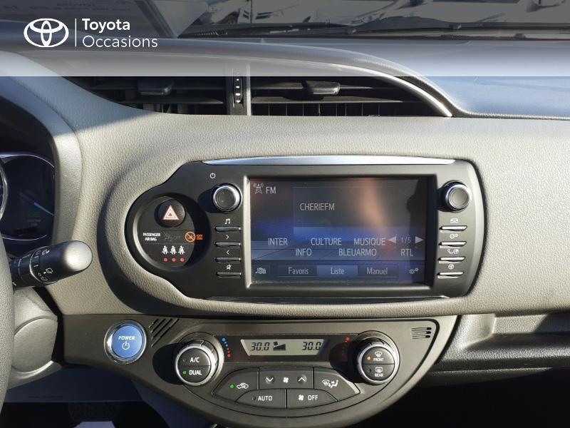 Photo 15 de l'offre de TOYOTA Yaris 100h France 5p MY19 à 12490€ chez Rizzon Auto - Toyota St Brieuc