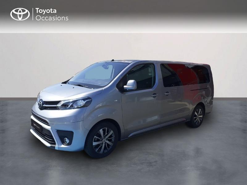 Toyota PROACE Verso Long 1.5 120 D-4D Dynamic MY20 Diesel Gris Clair Métal Occasion à vendre