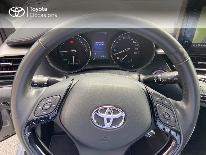 Photo 13 de l'offre de TOYOTA C-HR 122h Edition 2WD E-CVT RC18 à 20490€ chez Rizzon Auto - Toyota St Brieuc