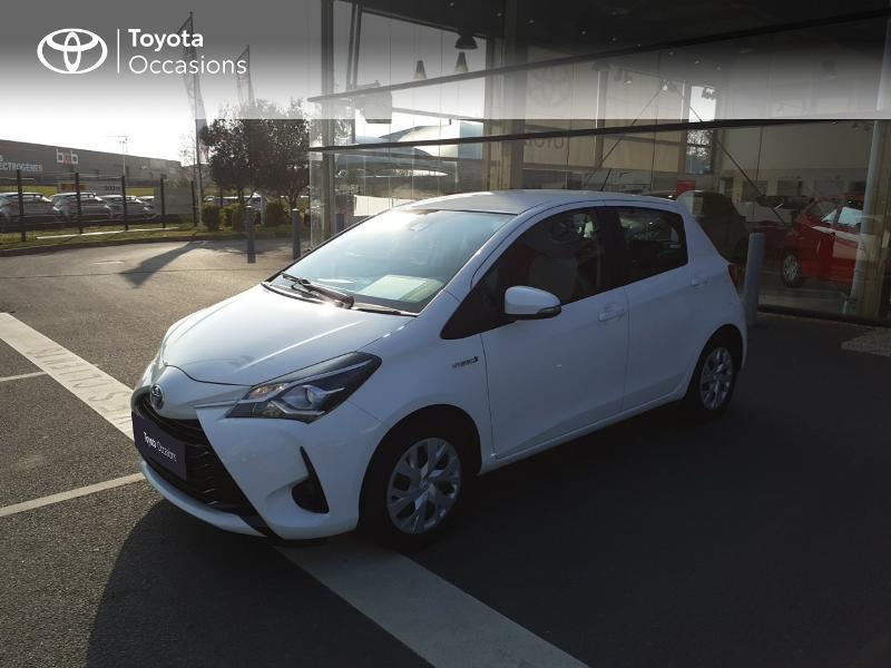 Photo 25 de l'offre de TOYOTA Yaris 100h France 5p MY19 à 12490€ chez Rizzon Auto - Toyota St Brieuc