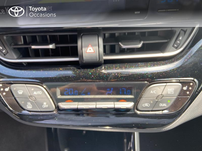 Photo 22 de l'offre de TOYOTA C-HR 122h Edition 2WD E-CVT RC18 à 20490€ chez Rizzon Auto - Toyota St Brieuc