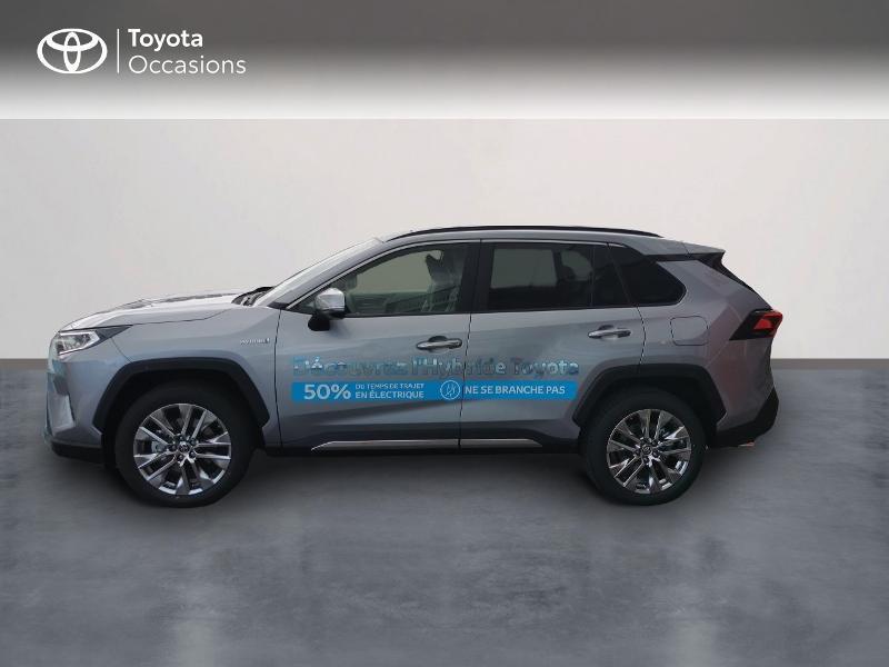 Photo 3 de l'offre de TOYOTA RAV4 Hybride 222ch Lounge AWD-i MY21 à 48990€ chez Rizzon Auto - Toyota St Brieuc