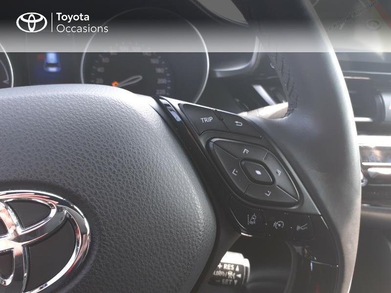 Photo 20 de l'offre de TOYOTA C-HR 122h Dynamic 2WD E-CVT à 20290€ chez Rizzon Auto - Toyota St Brieuc