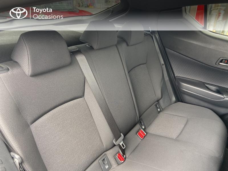 Photo 7 de l'offre de TOYOTA C-HR 122h Edition 2WD E-CVT RC18 à 20490€ chez Rizzon Auto - Toyota St Brieuc