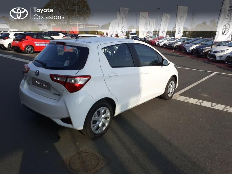 Photo 18 de l'offre de TOYOTA Yaris 100h France 5p MY19 à 12490€ chez Rizzon Auto - Toyota St Brieuc