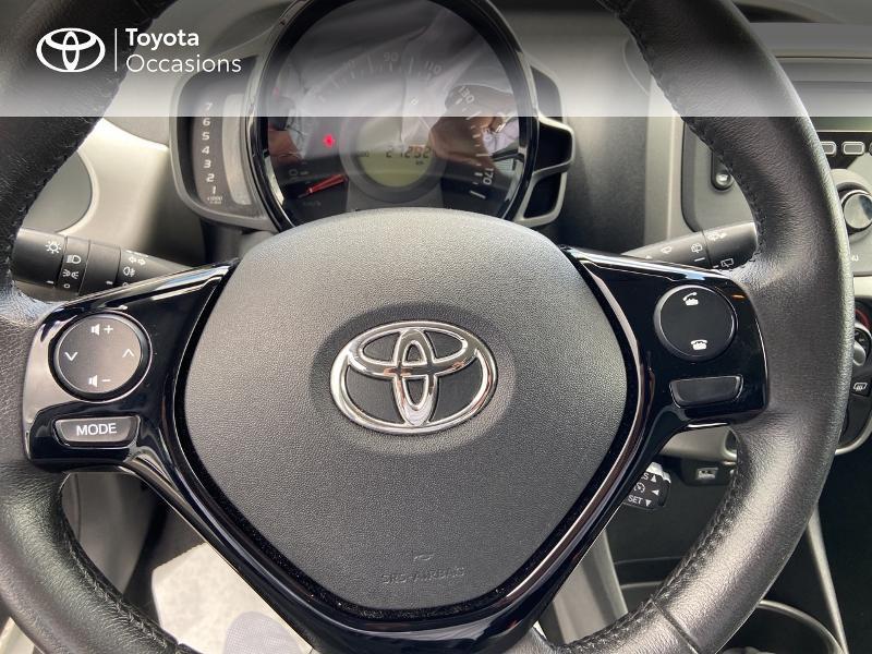 Photo 20 de l'offre de TOYOTA Aygo 1.0 VVT-i 72ch x-play 5p à 8990€ chez Rizzon Auto - Toyota St Brieuc