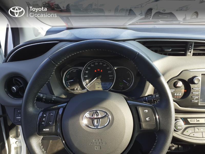 Photo 14 de l'offre de TOYOTA Yaris 100h France 5p MY19 à 12490€ chez Rizzon Auto - Toyota St Brieuc