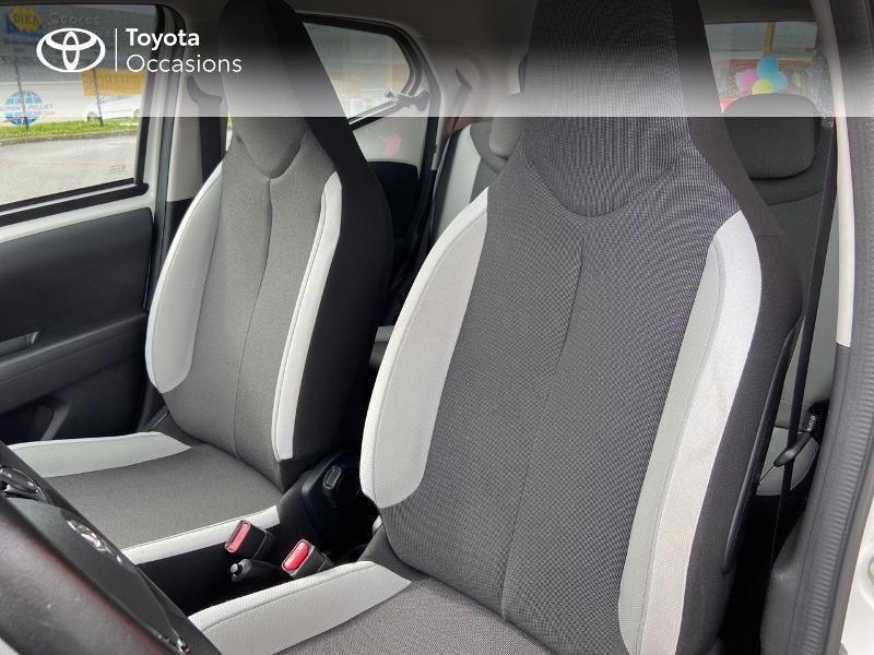 Photo 11 de l'offre de TOYOTA Aygo 1.0 VVT-i 69ch x-play 5p à 8990€ chez Rizzon Auto - Toyota St Brieuc
