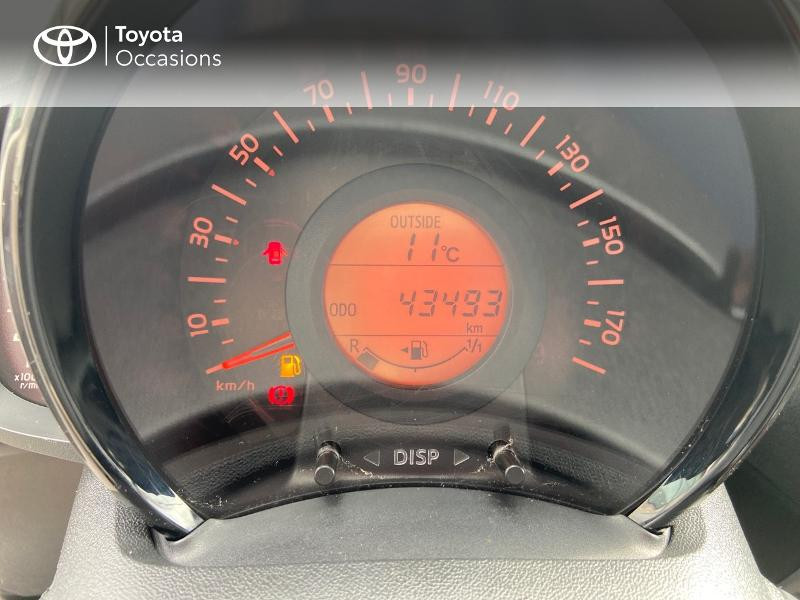 Photo 14 de l'offre de TOYOTA Aygo 1.0 VVT-i 69ch x-play 5p à 8990€ chez Rizzon Auto - Toyota St Brieuc