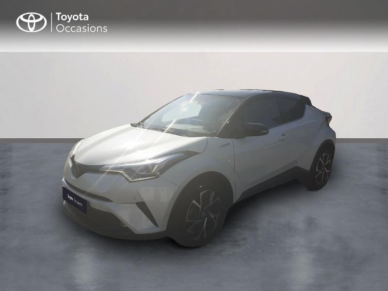 Toyota C-HR 122h Graphic 2WD E-CVT Hybride Blanc Métal Occasion à vendre