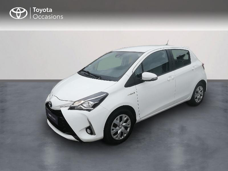 Toyota Yaris 100h France 5p Hybride Blanc Occasion à vendre