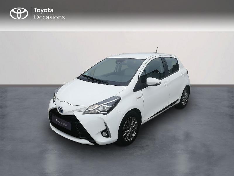 Toyota Yaris 100h Dynamic 5p RC18 Hybride Blanc Occasion à vendre