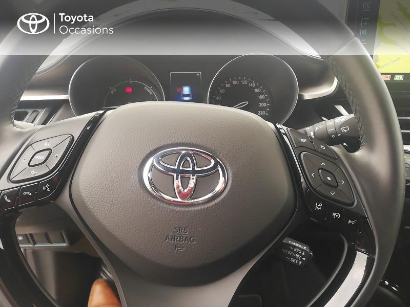 Photo 20 de l'offre de TOYOTA C-HR 122h Edition 2WD E-CVT RC18 à 21890€ chez Rizzon Auto - Toyota St Brieuc