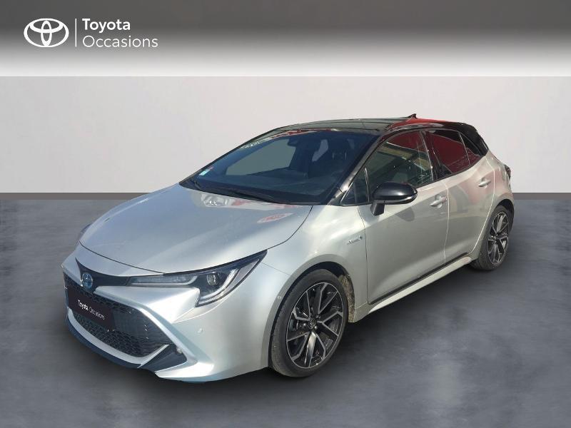 Toyota Corolla 184h Collection Hybride Gris Clair Occasion à vendre
