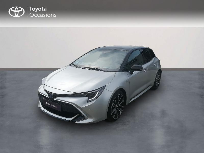 Toyota Corolla 122h Collection Hybride blanc Occasion à vendre