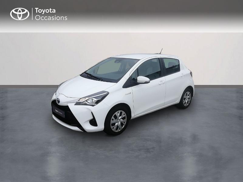 Toyota Yaris 100h France 5p RC18 Hybride Blanc Occasion à vendre