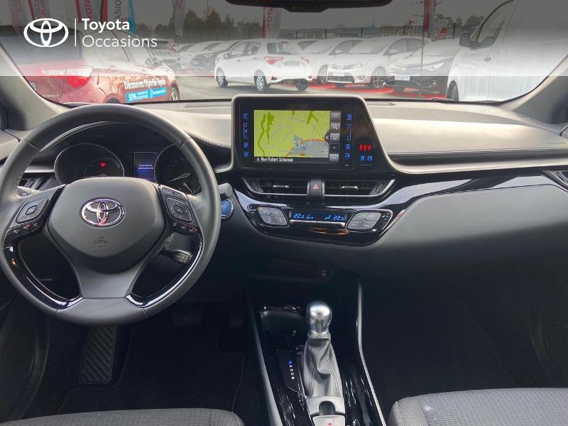Photo 8 de l'offre de TOYOTA C-HR 122h Edition 2WD E-CVT RC18 à 21890€ chez Rizzon Auto - Toyota St Brieuc