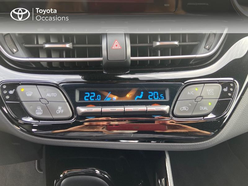 Photo 22 de l'offre de TOYOTA C-HR 122h Edition 2WD E-CVT RC18 à 21890€ chez Rizzon Auto - Toyota St Brieuc