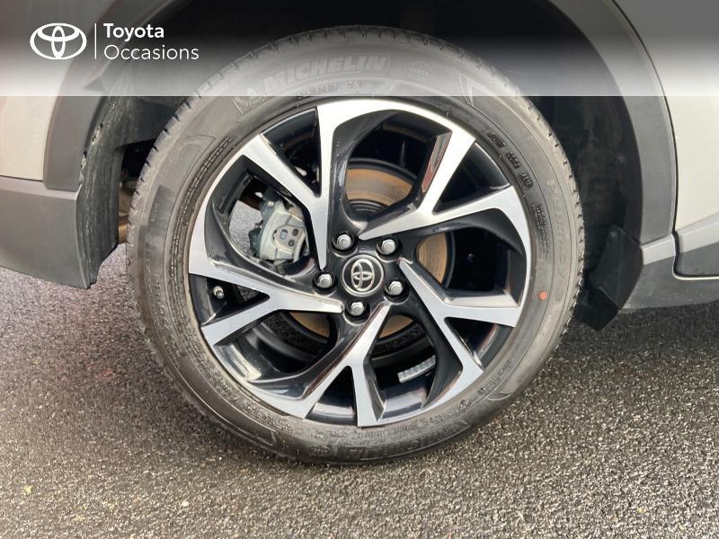 Photo 16 de l'offre de TOYOTA C-HR 122h Edition 2WD E-CVT RC18 à 21890€ chez Rizzon Auto - Toyota St Brieuc