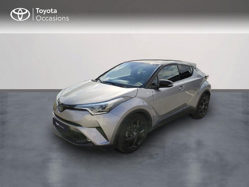 Toyota C-HR 122h Graphic 2WD E-CVT RC18 Hybride Gris Clair Métal Occasion à vendre