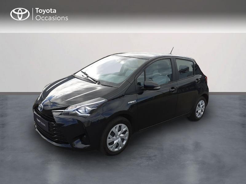 Toyota Yaris 100h France 5p RC18 Hybride Noir Métal Occasion à vendre