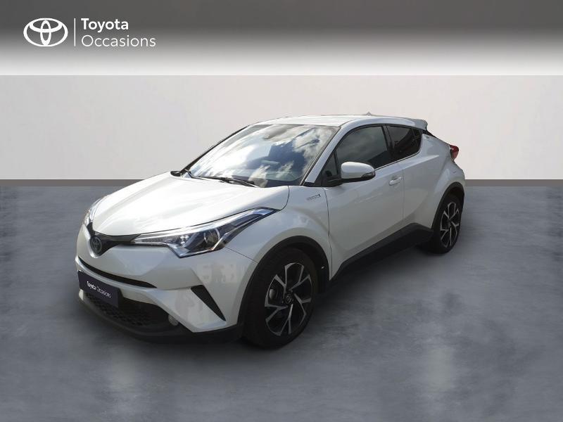 Toyota C-HR 122h Edition 2WD E-CVT Hybride Blanc Métal Occasion à vendre