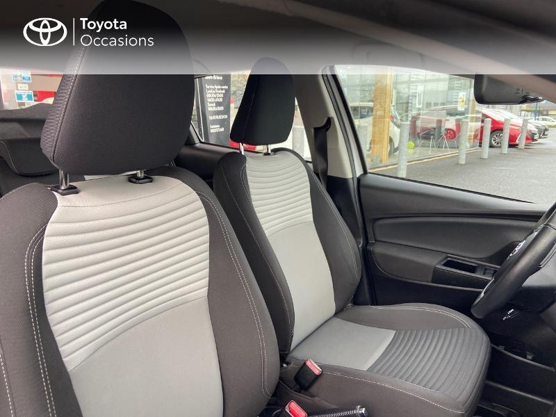 Photo 6 de l'offre de TOYOTA Yaris 100h Dynamic 5p à 12390€ chez Rizzon Auto - Toyota St Brieuc