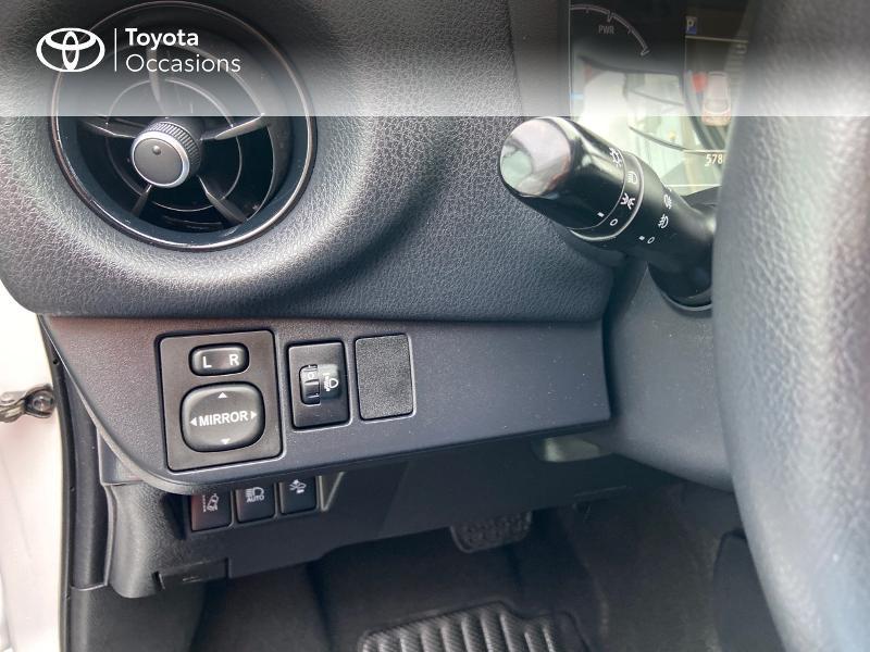 Photo 20 de l'offre de TOYOTA Yaris 100h Dynamic 5p à 12390€ chez Rizzon Auto - Toyota St Brieuc