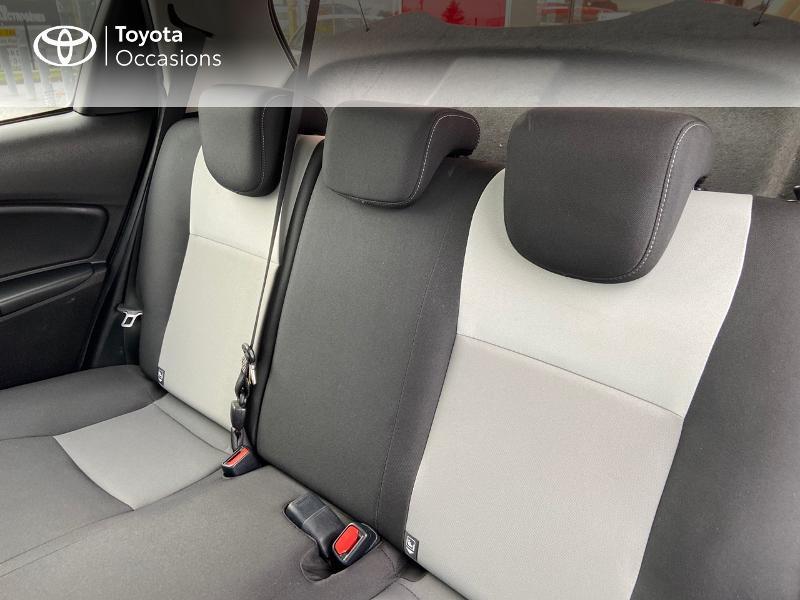 Photo 12 de l'offre de TOYOTA Yaris 100h Dynamic 5p à 12390€ chez Rizzon Auto - Toyota St Brieuc
