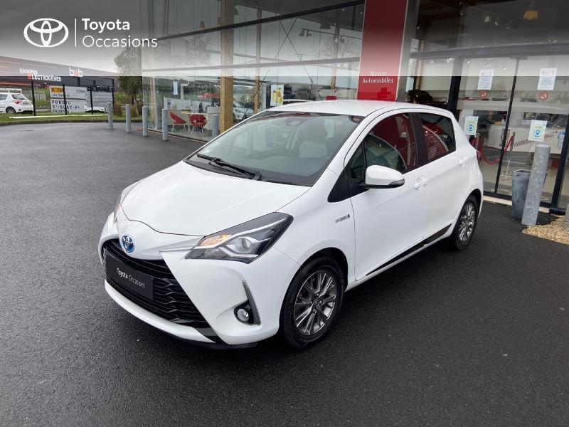 Photo 24 de l'offre de TOYOTA Yaris 100h Dynamic 5p à 12390€ chez Rizzon Auto - Toyota St Brieuc