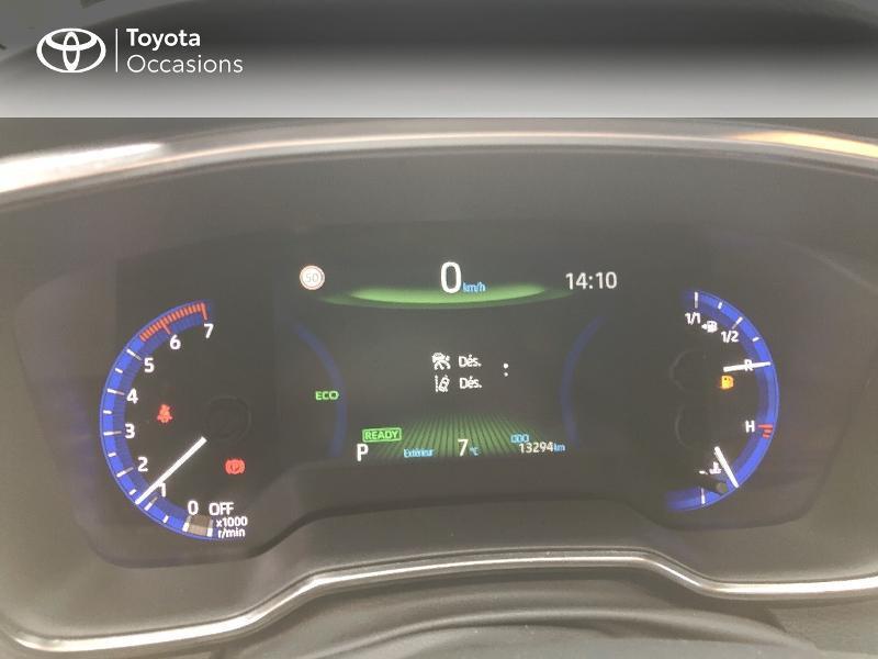 Photo 14 de l'offre de TOYOTA Corolla 122h Dynamic Business à 20890€ chez Rizzon Auto - Toyota St Brieuc