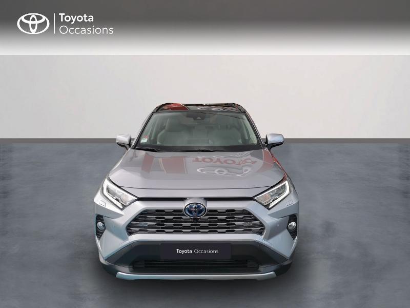 Photo 5 de l'offre de TOYOTA RAV4 Hybride 222ch Lounge AWD-i MY21 à 48990€ chez Rizzon Auto - Toyota St Brieuc