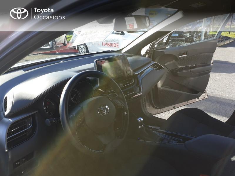 Photo 11 de l'offre de TOYOTA C-HR 122h Edition 2WD E-CVT RC18 à 20990€ chez Rizzon Auto - Toyota St Brieuc