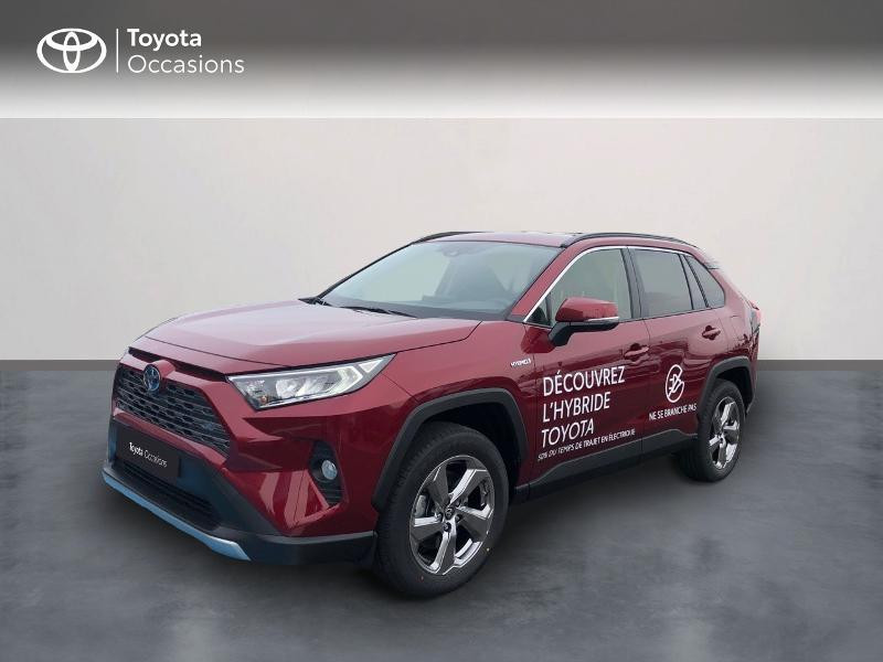 Toyota RAV4 Hybride 218ch Dynamic 2WD MY21 Hybride ROUGE METAL Occasion à vendre