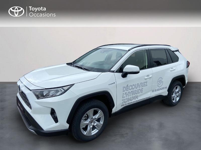 Toyota RAV4 Hybride 218ch Dynamic Business 2WD MY21 + Stage Hybrid Academy Hybride Blanc Occasion à vendre