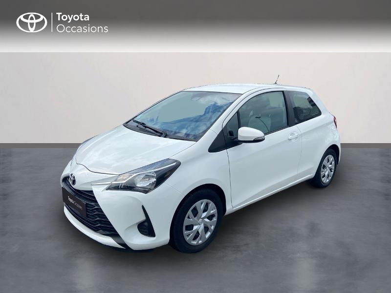 Toyota Yaris 70 VVT-i France 3p RC18 Essence blanc Occasion à vendre