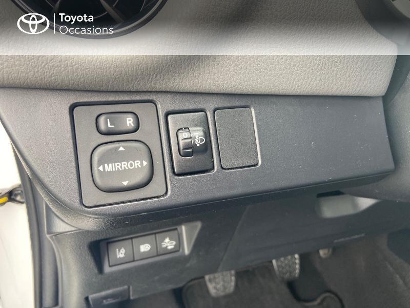 Photo 20 de l'offre de TOYOTA Yaris 70 VVT-i France 3p RC18 à 9790€ chez Rizzon Auto - Toyota St Brieuc