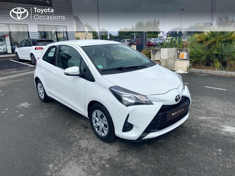 Photo 19 de l'offre de TOYOTA Yaris 70 VVT-i France 3p RC18 à 9790€ chez Rizzon Auto - Toyota St Brieuc