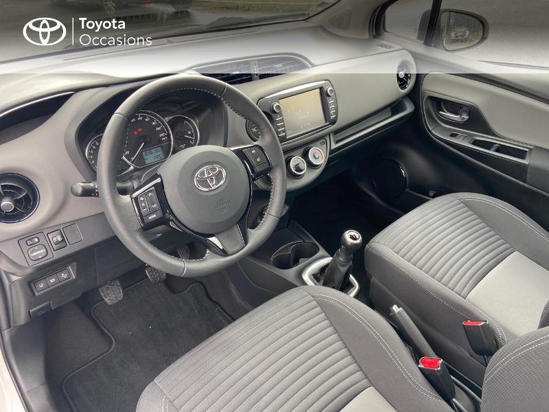 Photo 9 de l'offre de TOYOTA Yaris 70 VVT-i France 3p RC18 à 9790€ chez Rizzon Auto - Toyota St Brieuc