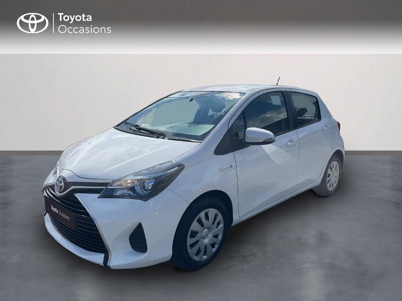 Toyota Yaris HSD 100h France 5p Hybride blanc Occasion à vendre