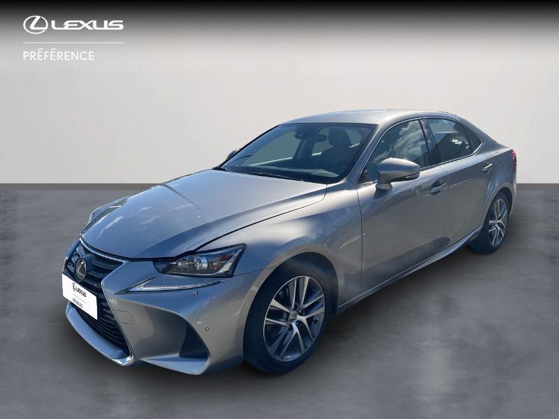 Lexus IS 300h Pack Business Euro6d-T Hybride GRIS TITANE Occasion à vendre