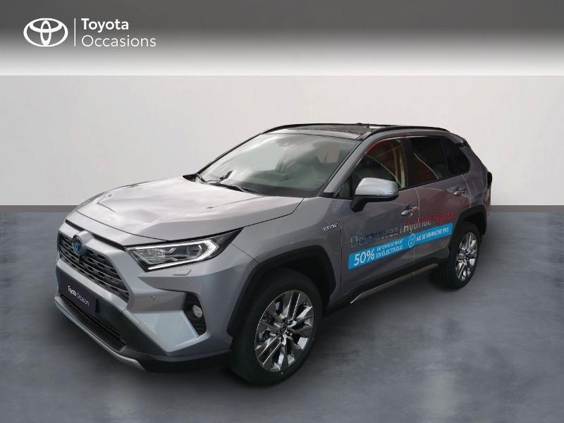 Photo 1 de l'offre de TOYOTA RAV4 Hybride 222ch Lounge AWD-i MY21 à 48990€ chez Rizzon Auto - Toyota St Brieuc