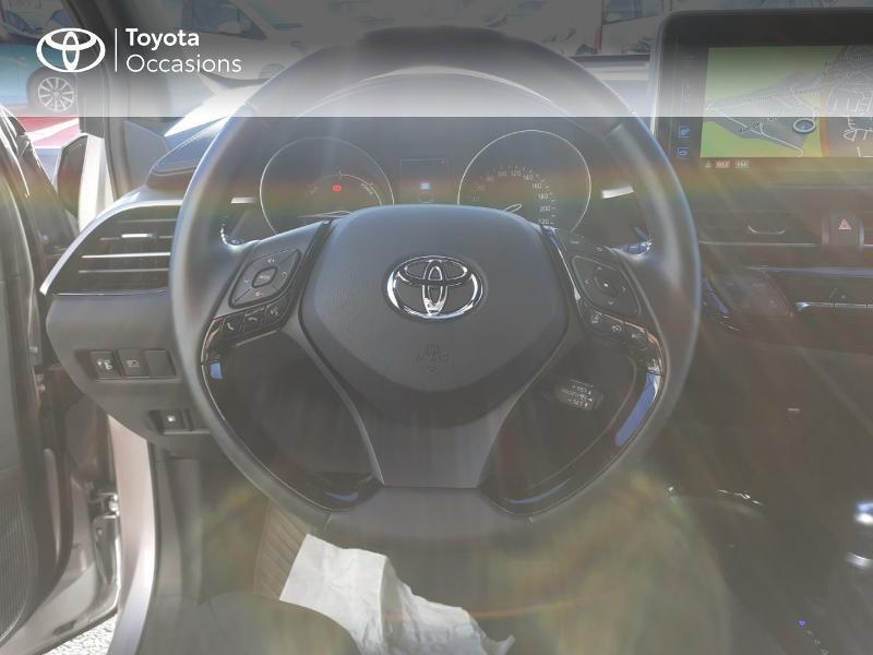 Photo 9 de l'offre de TOYOTA C-HR 122h Edition 2WD E-CVT RC18 à 20990€ chez Rizzon Auto - Toyota St Brieuc
