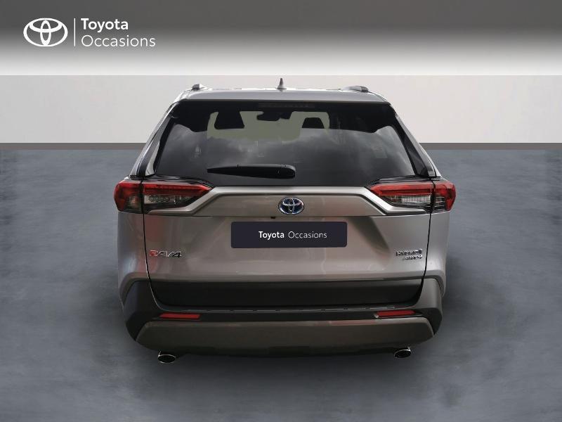 Photo 4 de l'offre de TOYOTA RAV4 Hybride 222ch Lounge AWD-i MY21 à 48990€ chez Rizzon Auto - Toyota St Brieuc