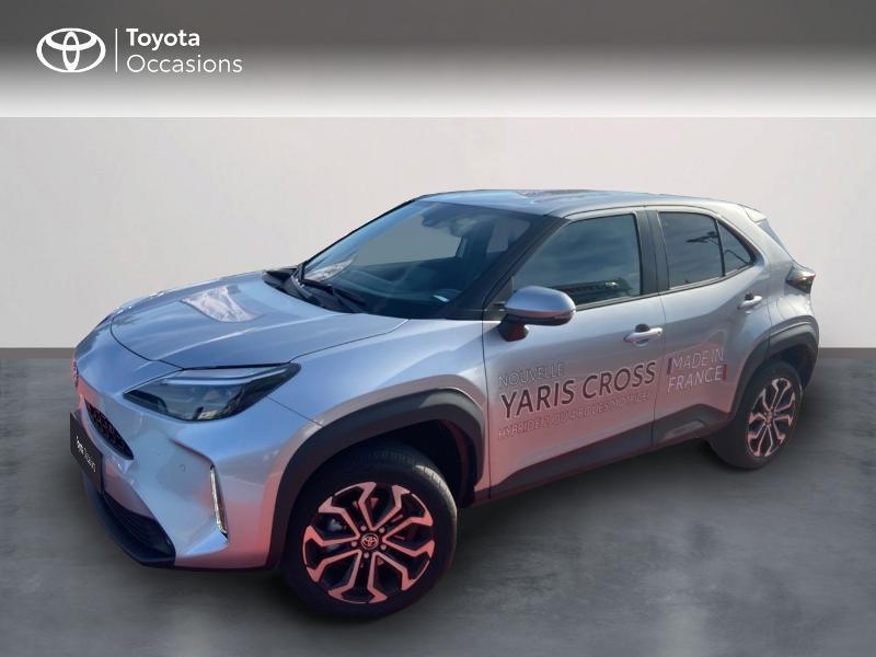 Toyota Yaris Cross 116h Design AWD-i Hybride Gris Clair Métal Occasion à vendre