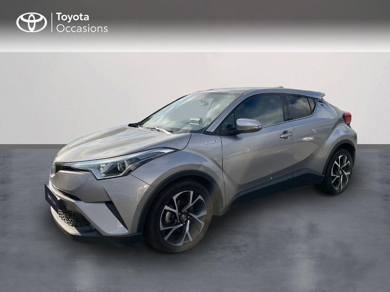Toyota C-HR 122h Edition 2WD E-CVT RC18 Hybride Gris Foncé Métal Occasion à vendre