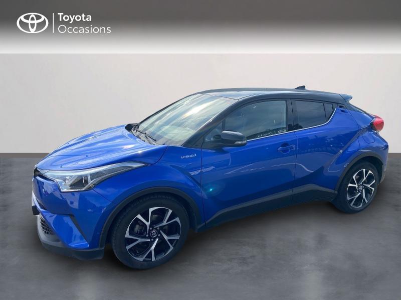 Toyota C-HR 122h Graphic 2WD E-CVT RC18 Hybride BI-TON BLEU Occasion à vendre