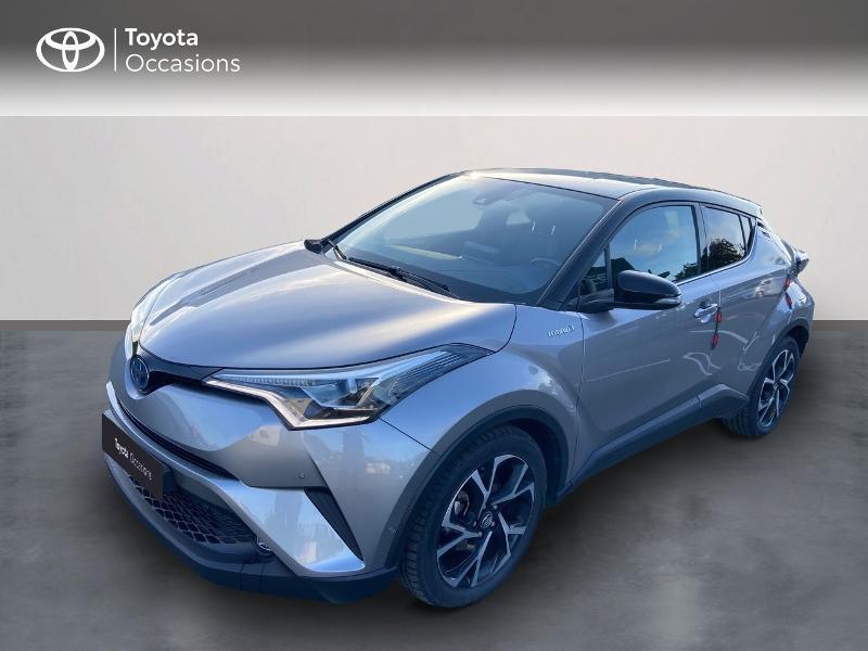 Toyota C-HR 122h Graphic 2WD E-CVT Hybride Gris Clair Métal Occasion à vendre