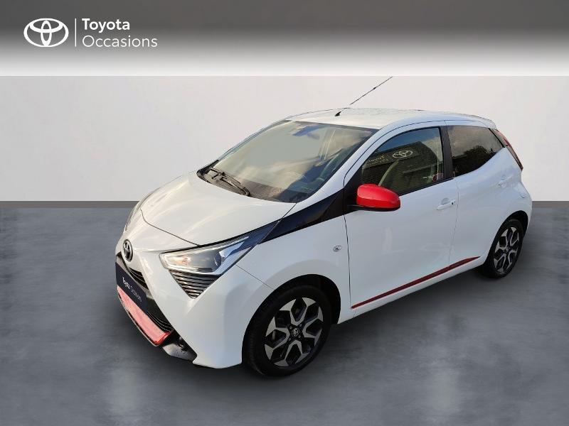 Toyota Aygo 1.0 VVT-i 72ch x-play x-shift 5p Essence Blanc Métal Occasion à vendre